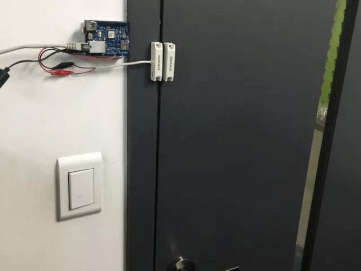 door-message